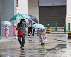 未來黃雨轉紅雨間距不排除較短