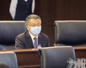 局長一職由副局長吳海恩代任