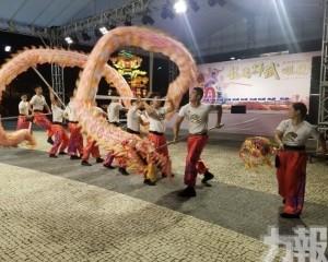 龍騰獅武頌鏡州周日塔石舉行