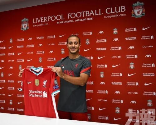 利物浦與艾簡達拿簽約4年