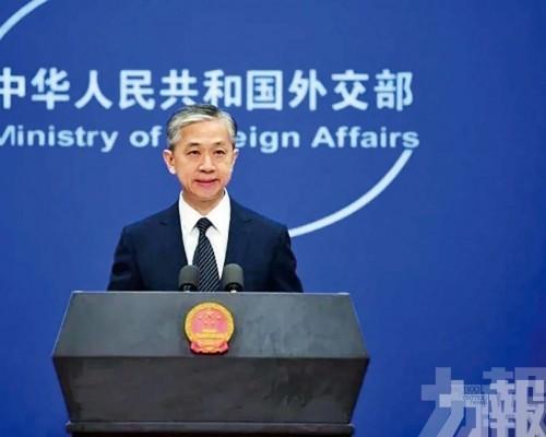 外交部:台灣是中國領土 不存在所謂的海峽中線