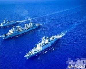廣西北部灣和海南島海域將進行實彈射擊訓練