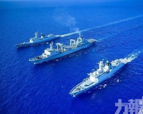 解放軍周五黃海執行軍事任務
