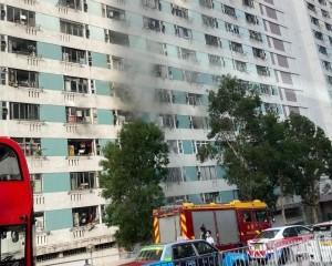 消防:火警有可疑 起火單位發現助燃劑