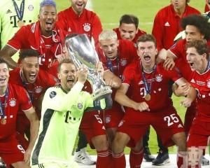 拜仁2:1反勝西維爾捧走歐超盃