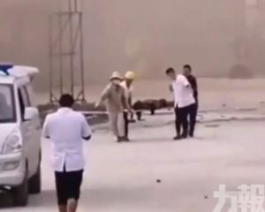 湖北天門化工廠爆炸 5死1傷