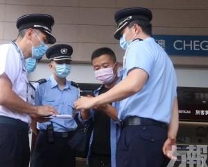 警方不休假投入工作 疏導人潮