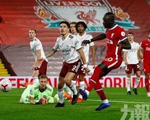 利物浦主場3:1反勝阿仙奴