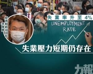 李偉農:失業壓力短期仍存在