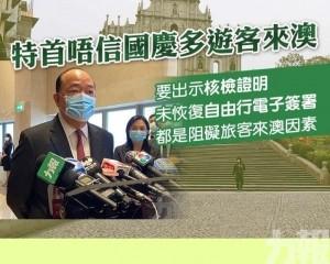 誠哥:仍要核檢阻礙旅客