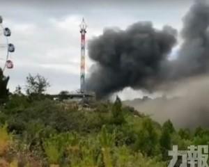 山西太原台駘山景區大火28死傷