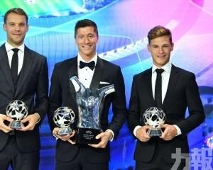 「羅拔仔」榮膺歐協年度最佳球員