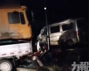 甘肅重型貨車失控事故增至6死17傷