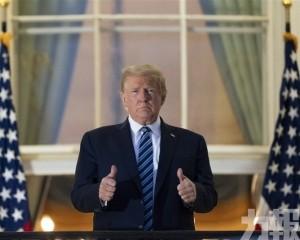 特朗普稱新冠遠不如流感致命