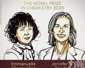 兩女科學家獲諾貝爾化學獎
