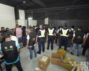 破獲北區一店扣427萬貨拘36人