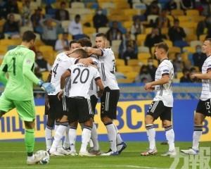 德國客場2:1挫烏克蘭
