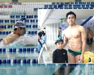 6歲小泳將與澳門「蛙王」同場較量