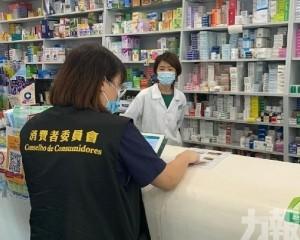 消毒用品、嬰兒奶粉及非處方成藥價格調查
