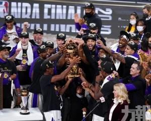 湖人相隔10年再贏NBA總冠軍