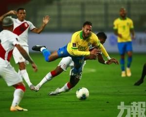 巴西世盃外4:2反勝秘魯