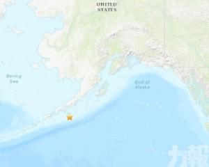 阿拉斯加州南部海域發生7.5級地震