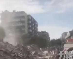 至少4死120傷 多人被埋瓦礫