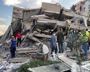 希臘及土耳其增至22死 逾800人受傷