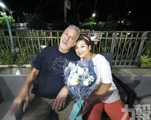 肥媽葡籍老公肺炎併發症病逝