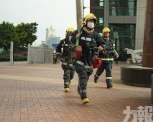 消防局旅遊塔火警及疏散演習