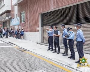 治安警訪校交流交通及治安環境