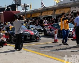大賽車首日錄得2.8萬旅客