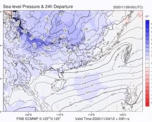 廣東北部周末最低氣溫跌破10℃