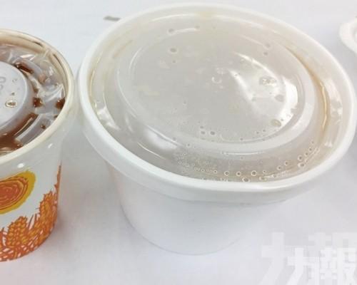 禁進口發泡膠製一次性餐具