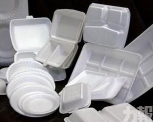 明年起本澳禁止進口發泡膠製一次性餐具