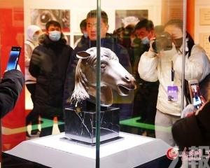 馬首銅像今起正覺寺展示