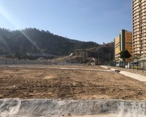 石排灣積水地段回填工程完成