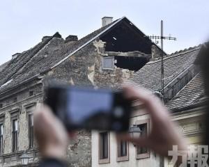 克羅地亞首都附近6.4級地震