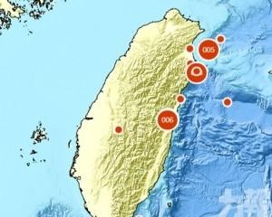 台灣花蓮4.9級淺層地震