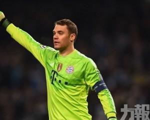 紐亞榮膺德國年度最佳球員