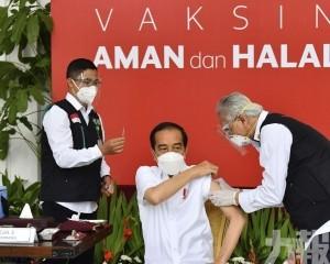 印尼總統公開接種中國新冠疫苗
