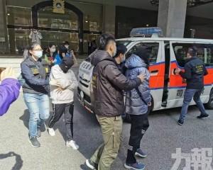 司警拘三涉毒本地男女