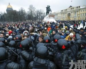 俄羅斯爆發示威要求釋放納瓦爾尼