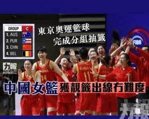 中國女籃獲靚籤出線冇難度