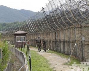 韓軍邊境發現一名疑似脫北者