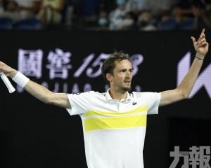 麥維迪夫澳網男單與迪祖高域爭冠