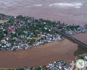 今年第1號颱風「杜鵑」登陸菲律賓