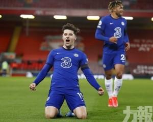 「藍戰士」英超1球挫利物浦