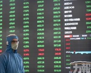 內地股市下挫 創指跌逾3%
