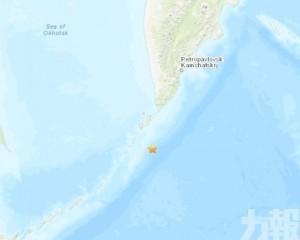 俄羅斯千島群島附近發生5.1級地震
